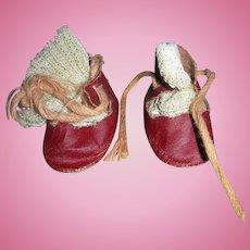 Darling Vintage red shoes & socks