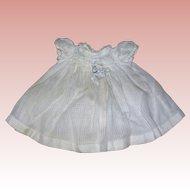 Darling Toddler Dress window pane material