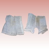 Factory Original Dolly's Gauze  undies: petticoat and bloomers