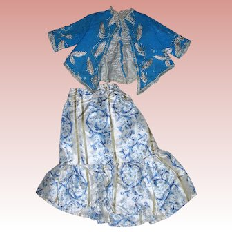 Antique Fashion skirt & Jacket...wow!!!