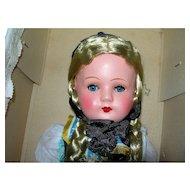 """11 1/2"""" tall Black Forest Doll MIB; Hoellental Gura"""