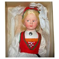 """Ronnuag Petterssen Young Lady 9 1/2"""" Tall in box"""