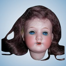 "9"" HC Exceptionally Pretty A&M Head Mohair wig, too"