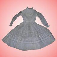 Gorgeous Batiste Cotton Dress Insertion lace