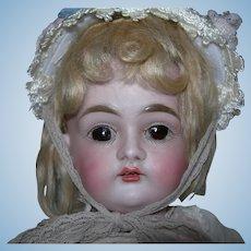"""Antique Cabinet Size #167 JD Kestner doll 14"""" tall"""