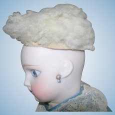 "Antique Skin wig 6"" head circumference."
