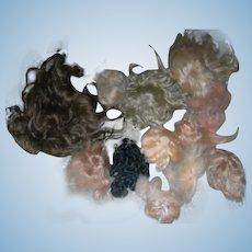 Mohair pieces & wigs TLC