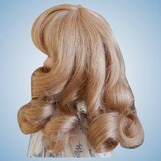 Beautiful Blonde Human Hair Wig