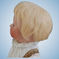 8 Inch French Mohair Wig