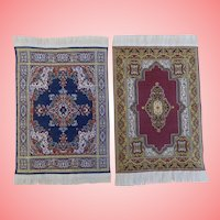 Miniature  Doll House Oriental Rugs