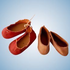 Two Pair Slip on Shoes