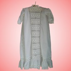 26 Inch Lace and cotton gown.