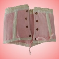 Pretty Pink Corset for Fashion or Dolly