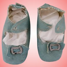 3.25 Inch Turquoise  Heeled Shoes