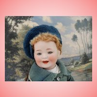 Rare Porzellanfabrik  Mengergereuth Smiling Toddler Character
