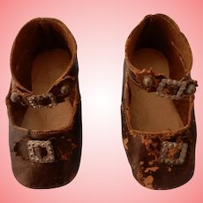 Antique 3 Inch Keystone Shoes