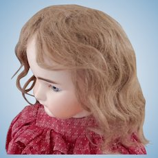 Antique Ash Blonde Mohair Wig