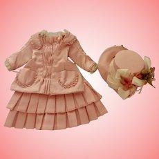 Fabulous Pink Dress and Bonnet