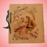 The Kirmess/ Miniature County Fair Almanac 1889