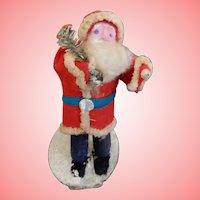 3.5 Inch Clay Faced Santa