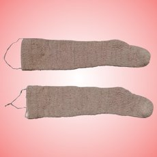 Heavy Stockings for Dolls or to Hang for Christmas