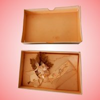 Miniature Christmas Boxed Envelope and Spray for Fashion or Display