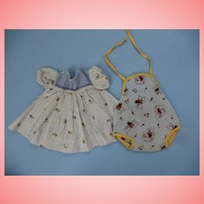 Sun Suit and Dress for 1950's Dy-dee Baby
