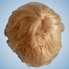 6.5 Inch Mohair Kestner Baby or Boy Wig