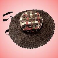 Woven Soft Cissy Hat