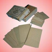 Boxed 'Papier et Enveloppes/ /MIGNON' for your French Fashion