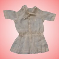 Hand Stitched Dress for a Schoenhut or Antique Bisque Doll