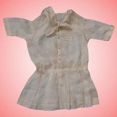 Hand Stitched Dress for a Schoenhut or Antique Bisque Doll