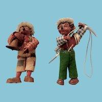 3.5 Inch Steiff Hedgehog Dolls