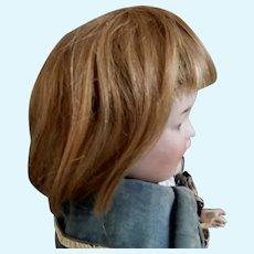 Antique Human Hair Soft Wig