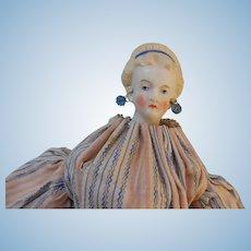 Miniature 9 Inch Countess Dagmar Parian 1870's