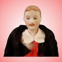 Doll House Gent with Mustache