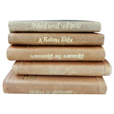 Five Miniature Shakespeare Leather Books