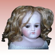"17 1/2"" Turned Head Sleep eyes Pale Bisque Gorgeous! Sleeping Beauty"