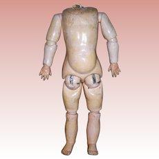 """13"""" Golden Patina German Body Unmarked Wide Shoulders"""