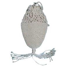 Cotton Crochet thread purse for French Fashion