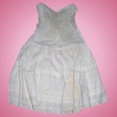 Gorgeous Tuck work on Antique Child's Petticoat
