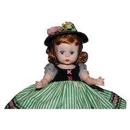 "Darling 8"" 1953 Madame Alexander SLNW Little Victoria Pristine Condition"