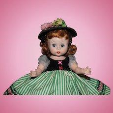 """Darling 8"""" 1953 Madame Alexander SLNW Little Victoria"""