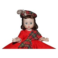 "1955 SLW Madame Alexander Wendy Does the Highland Fling 8"""