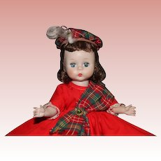 1955 SLW Madame Alexander Wendy Does the Highland Fling