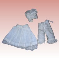 Vintage Cotton Undies for Bisque Fashion Dolls