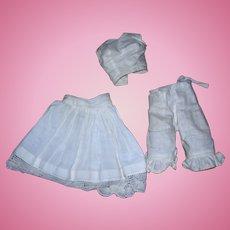 Vintage Cotton Undies for Bisque Fashion Dolls