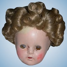 4 Soft DK Blond Shirley Wigs