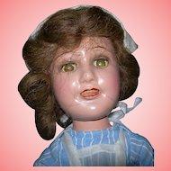 "Rare Size 14"" Deanna Durbin Nurse doll"
