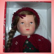 """10"""" MIB Kathe Kruse UFDC Convention doll with Pillow Louisa"""